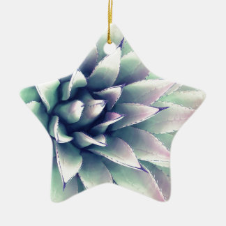 Agave Plant Ceramic Ornament