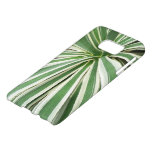 Agave Plant Green and White Stripe Samsung Galaxy S7 Case