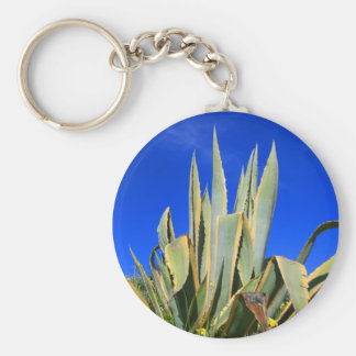 Agave Plant Keychain