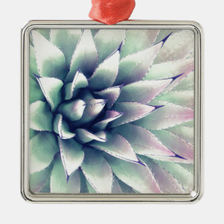 Agave Plant Metal Ornament