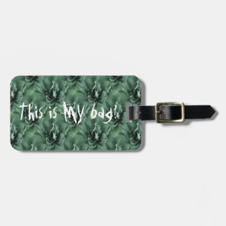 Agave Repeat Play - Luggage Tag