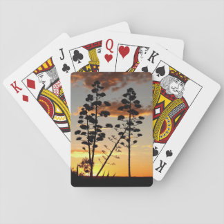 Agave Silhouette Playing Cards