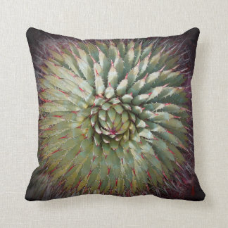 """Agave Spikes 16"""" Square Pillow"""