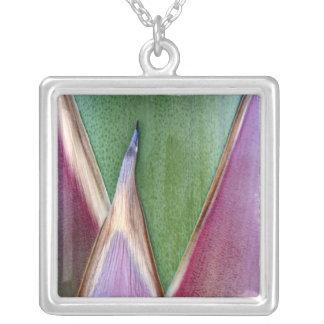 Agave Stalk Square Pendant Necklace