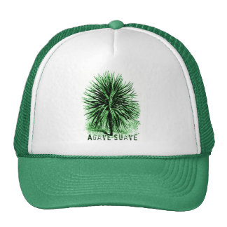 AGAVE SUAVE print Trucker Hat