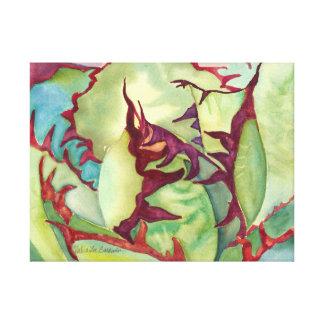 Agave Watercolor by Debra Lee Baldwin Canvas Print