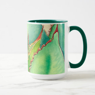 Agave watercolor mug by Debra Lee Baldwin