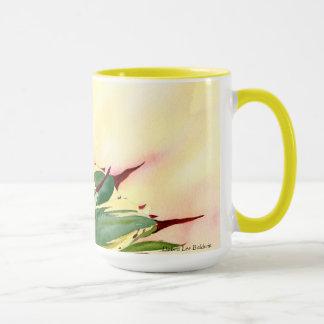 Agave watercolor mug, yellow, by Debra Lee Baldwin Mug