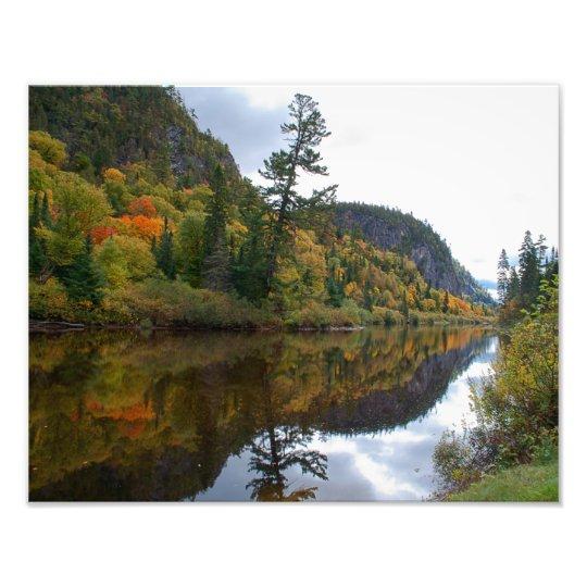 Agawa Canyon In The Fall 11 x 14 Photo Print