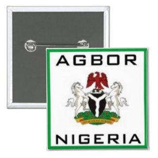 Agbor, Nigeria Pinback Buttons