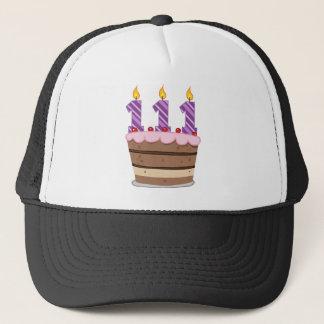 Age 111 on Birthday Cake Trucker Hat