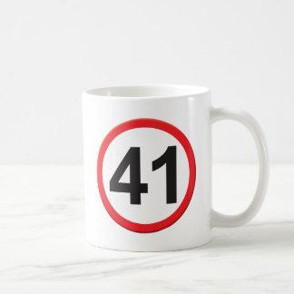 Age 41 coffee mugs