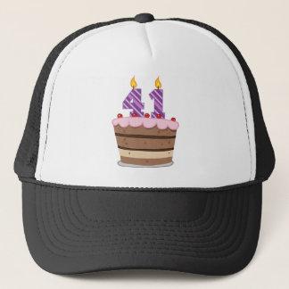 Age 41 on Birthday Cake Trucker Hat