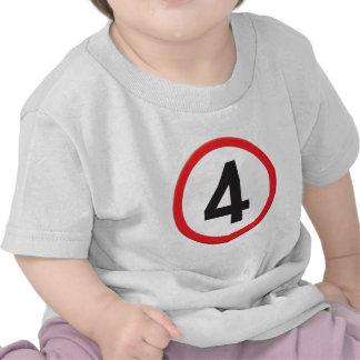 Age 4 tshirt
