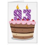 Age 93 on Birthday Cake Card