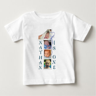 Age and photo number Tshirts. Personalised designs T Shirt