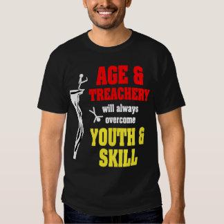 Age and Treachery Tee Shirt