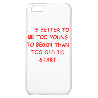 age and youth iPhone 5C case