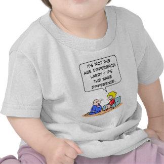 age difference wage proposal t-shirt