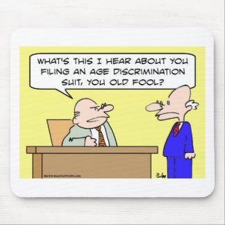 age discrimination suit mouse pad