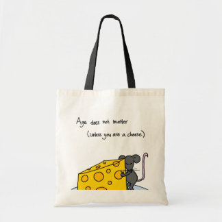 Age Does Not Matter... Budget Tote Bag