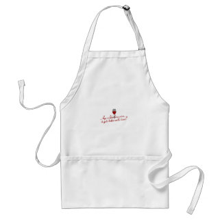 Age Fine Wine Adult Apron