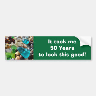 Age Funny Bumper Stickers 50 years Old