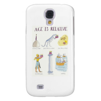 Age Is Relative Samsung Galaxy S4 Case