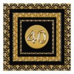 Age milestone party celebration template personalized invitation