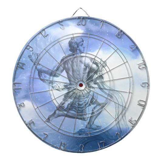Age of Aquarius Zodiac Dart Board