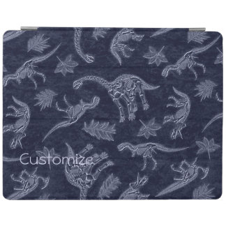 Age Of Dinosaurs Skeleton Pattern iPad Cover