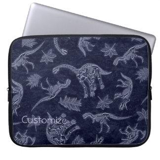 Age Of Dinosaurs Skeleton Pattern Laptop Sleeve