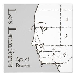 Age of Reason French History Class Party Custom Invitation
