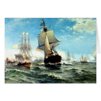 Age Of Sail Greeting Card