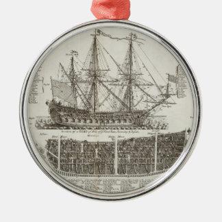 Age of Sails Metal Ornament