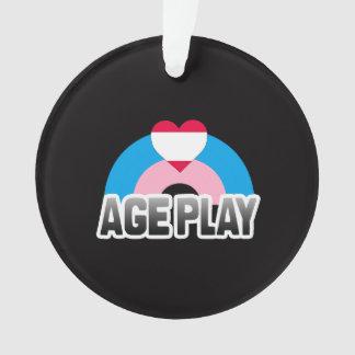 Age Play Pride Ornament