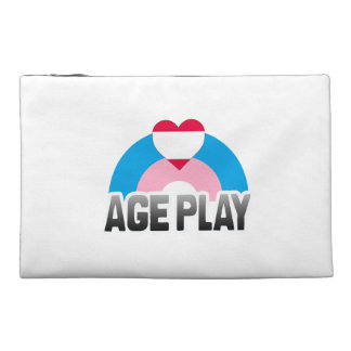 AGE PLAY RAINBOW TRAVEL ACCESSORIES BAG