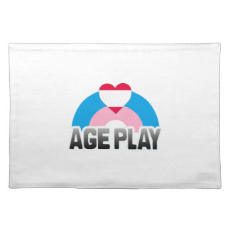 AGE PLAY RAINBOW PLACE MAT