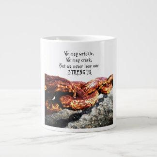 Age & Strength Giant Coffee Mug