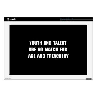 "Age Treachery Decal For 17"" Laptop"