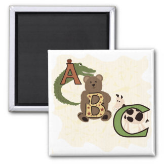 Aged ABC Tshirts and Gifts Magnets