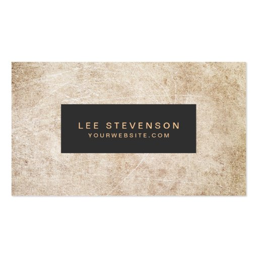 Aged and rustic vintage style business card zazzle for Business cards vintage style
