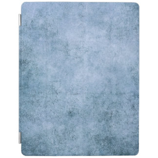Aged and Worn Blue Vintage Texture iPad Cover