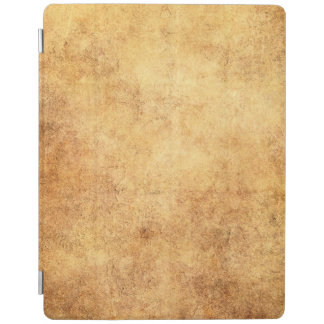 Aged and Worn Brown Vintage Texture iPad Cover