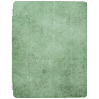 Aged and Worn Green Vintage Texture iPad Cover