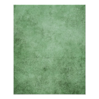 Aged and Worn Green Vintage Texture Poster