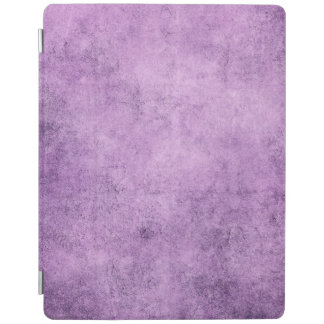 Aged and Worn Purple Vintage Texture iPad Cover