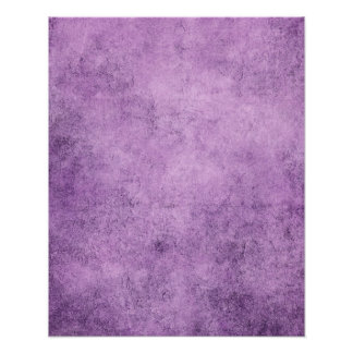 Aged and Worn Purple Vintage Texture Poster