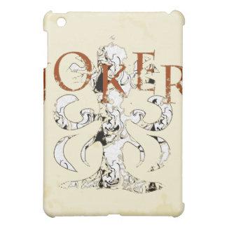 aged binder background, joker-t-shirt iPad mini cover