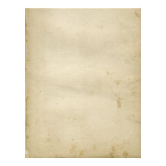 Aged Blank Antique Stained Paper Retro Inspired Letterhead